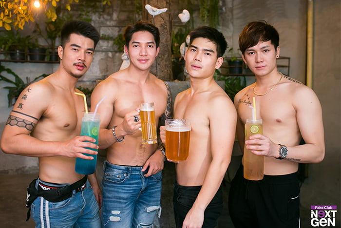fake club drink